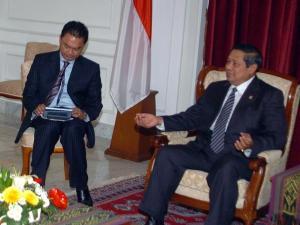 Dino Patti Djalal & Presiden SBY